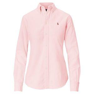 Polo Ralph Lauren Oxford Pink Polo Shirt